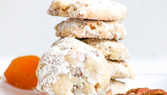 Apricot Pecan Sandies  #WeekdaySupper