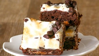 Marshmallow Peanut Butter Cup Brownies combine our favorite decadent flavors into one rich brownie. They are finger licking good!
