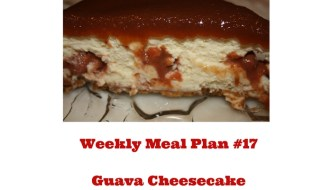 Weekly Meal Plan #17