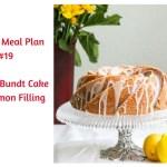 Weekly Meal Plan #19