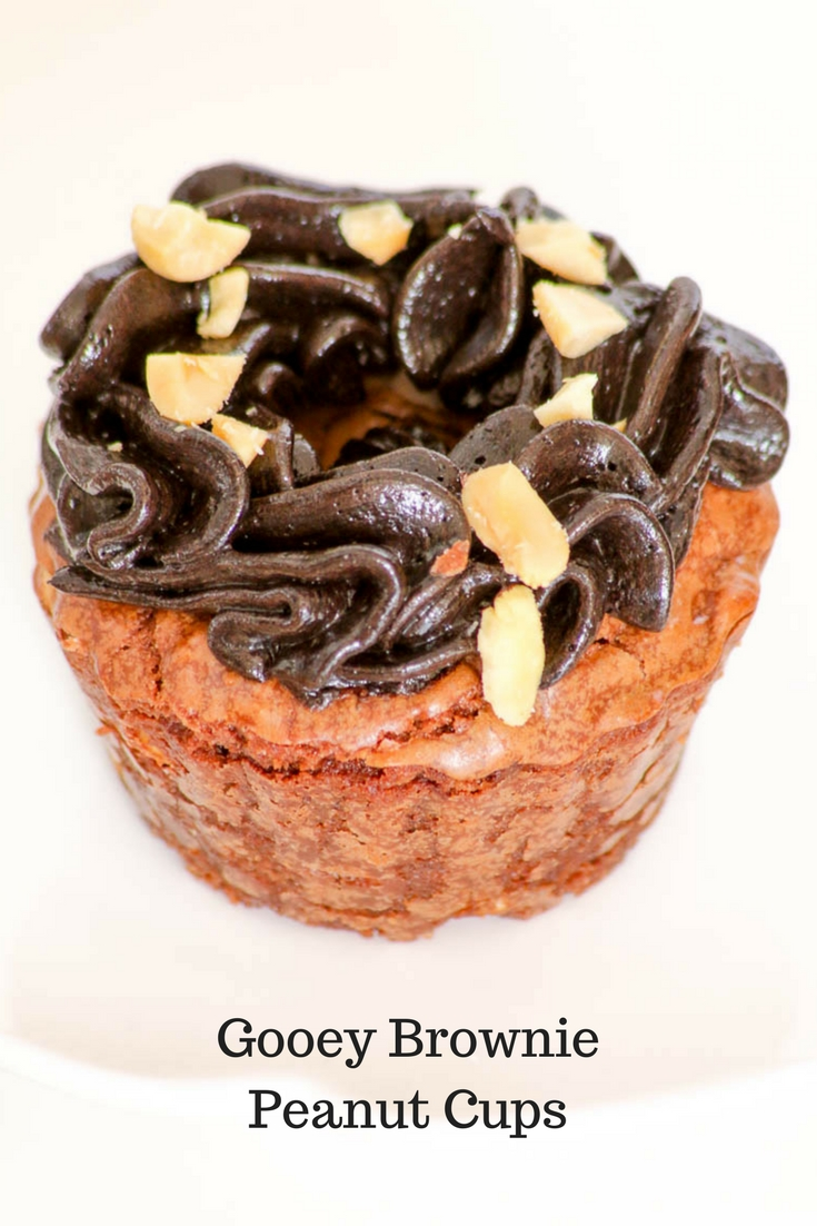 Gooey Chocolate Peanut Cups are a delicious blend of sweet and salty with a very rich decadent chocolate frosting. Sure to be a family favorite.
