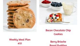 Weekly Meal Plan #51