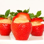 Peanut Butter Cream Strawberries