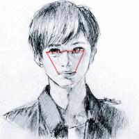 投稿302:人物の顔のデッサン