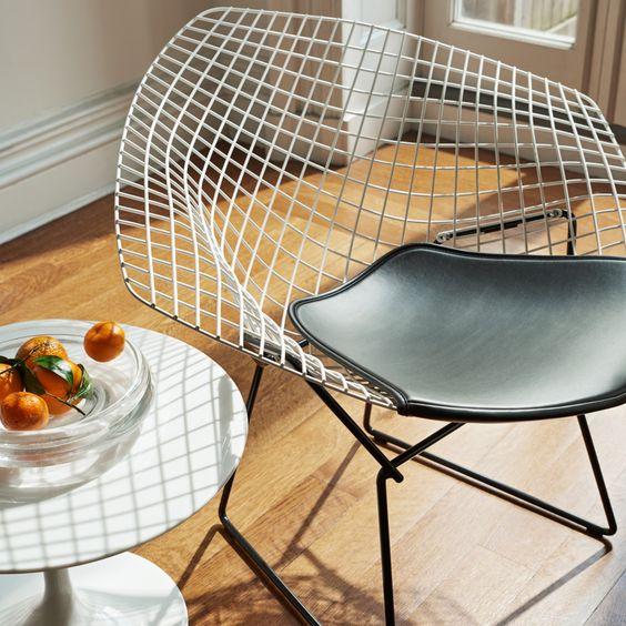 Diamond Chair de Harry Bertoia, 1952