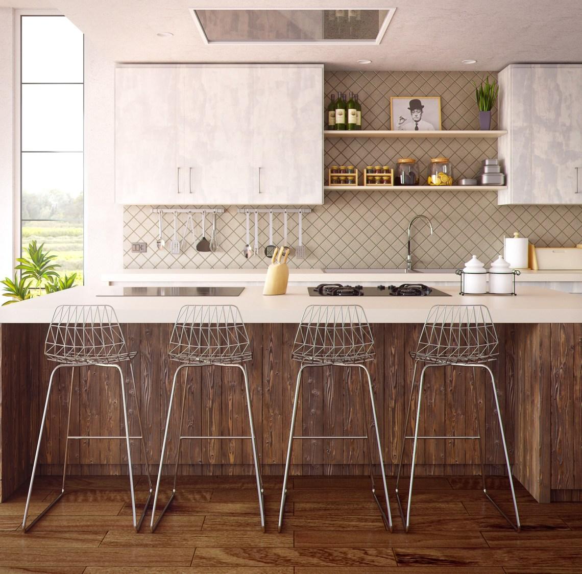 l'importance de la symétrie dans une cuisine