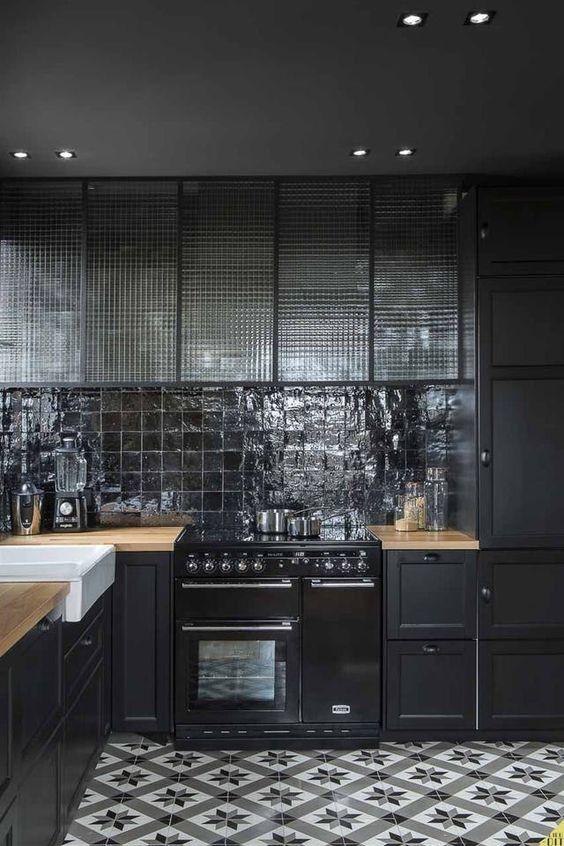piano de cuisson pour cuisine style industriel