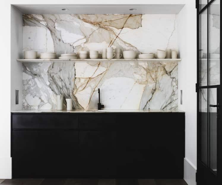 crédence en marbre pièce maîtresse de votre cuisine