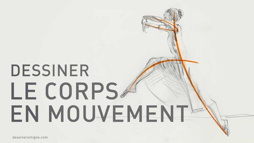 Favori Comment dessiner le corps en mouvement | Blog FP27