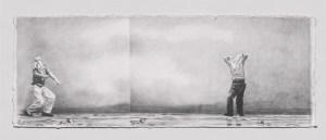 21 x 57 cm crayon sur papier