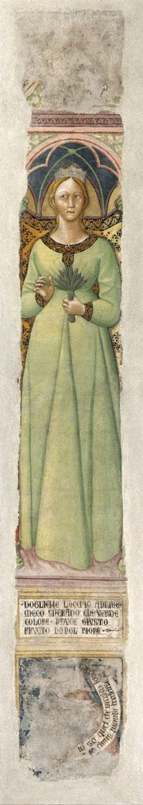 Hope - Fresque de Cola di Petruccioli et Andrea di Giovanni - 14e s
