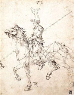 dessin à l'encre d'Albrecht Dürer - 1502