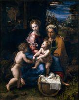 Saint famille (la perla) de Raphaël