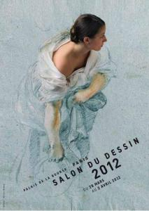 affiche, salon dessin, dessin, montage photo