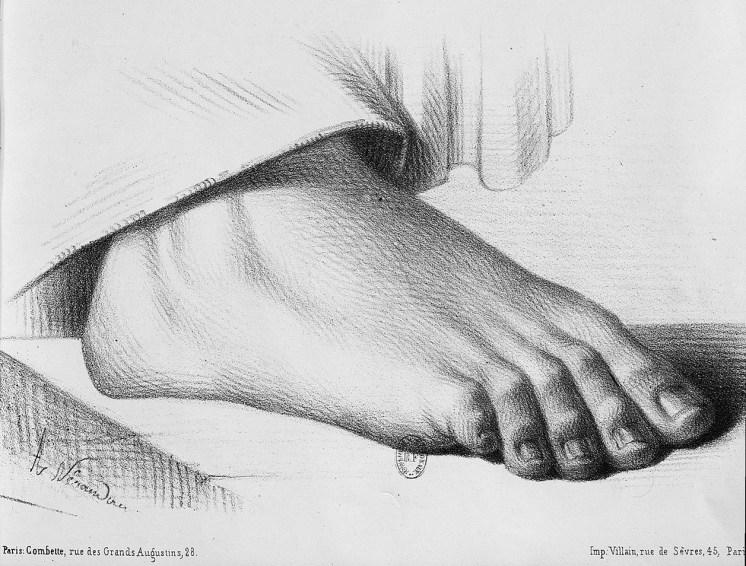apprendre à dessiner les pieds pl.51