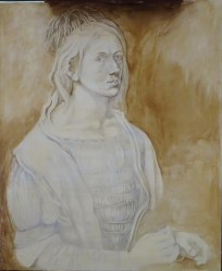 peinture en cours