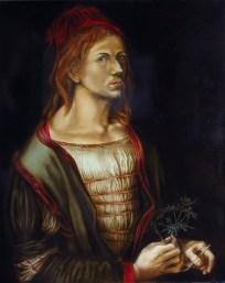 copie de peinture, Louvre, Dürer