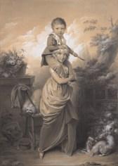 La grande soeur de Louis-Léopold Boilly ,