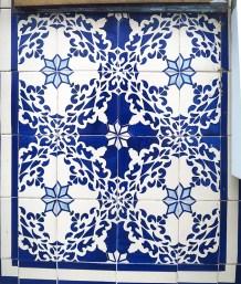 facade, azulejos, Lisbonne