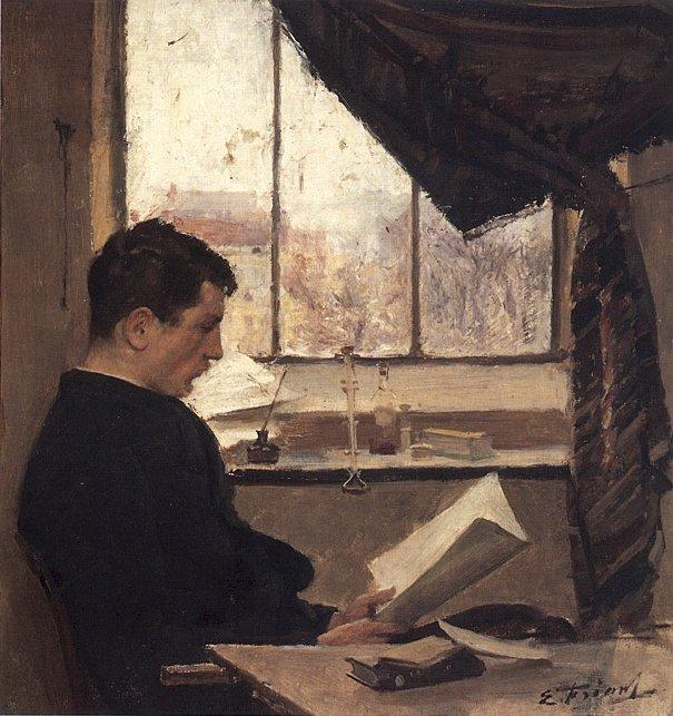 Emile_Friant_Autoportrait_1885