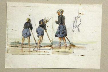 Femmes arrachant le goémon de Louis-Marie Faudacq