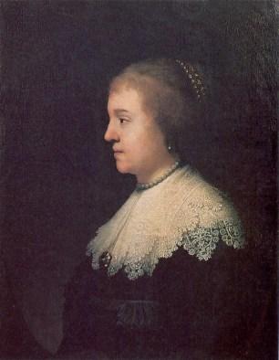 Amalia van Solms de Rembrandt