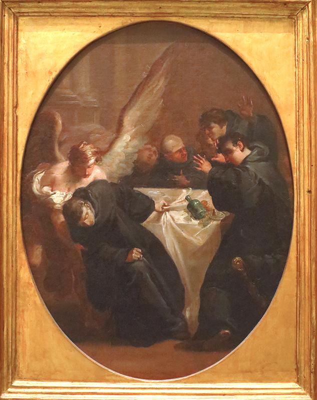 peinture, scène de taverne