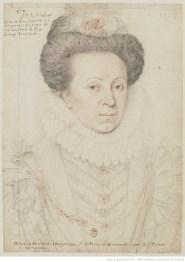 portrait, dessin, Mme de Larchan