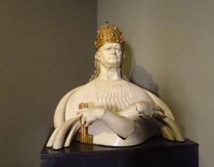 marbre buste du pape pie XI