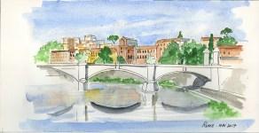 Rome aquarelle
