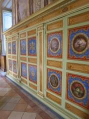 les armoires du musée du Vatican