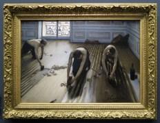 Les rabatteurs de Caillebotte