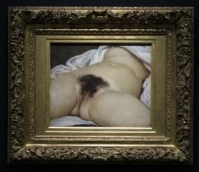 Origine du monde de Courbet