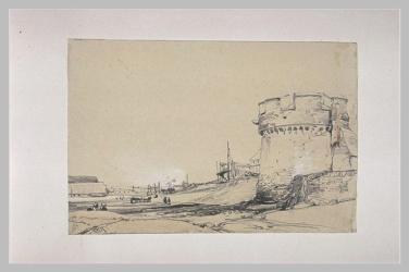 dessin d'un port