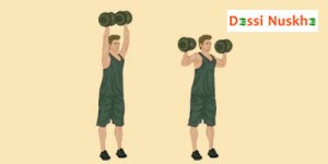 Dumbbell-Standing-Shoulder-Press