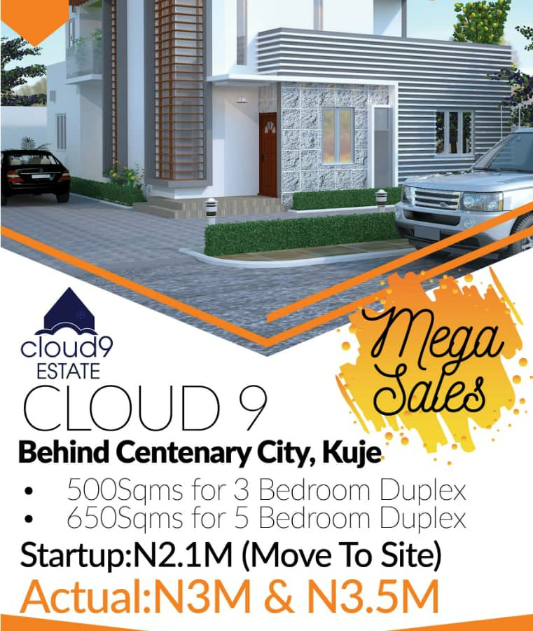 Get a Plot at Cloud9 Estate, Kuje Abuja