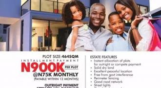 Buy plots of land in SUNSHINE CITY ESTATE ASABA DELTA STATE