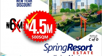 land for Sale in Spring Resorts Estate, Abuja