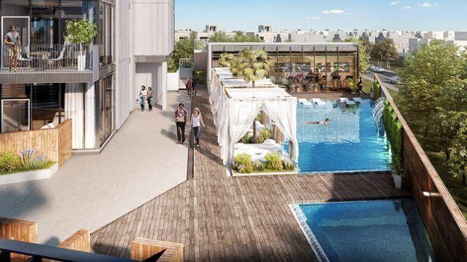 Luxury Apartment For Sale in Q Gardens Residences Dubai