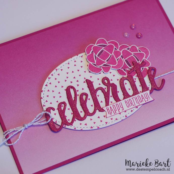 De Stempelcoach: Celebrate You Thinlits and Picture Perfect Birthday by Stampin' Up!