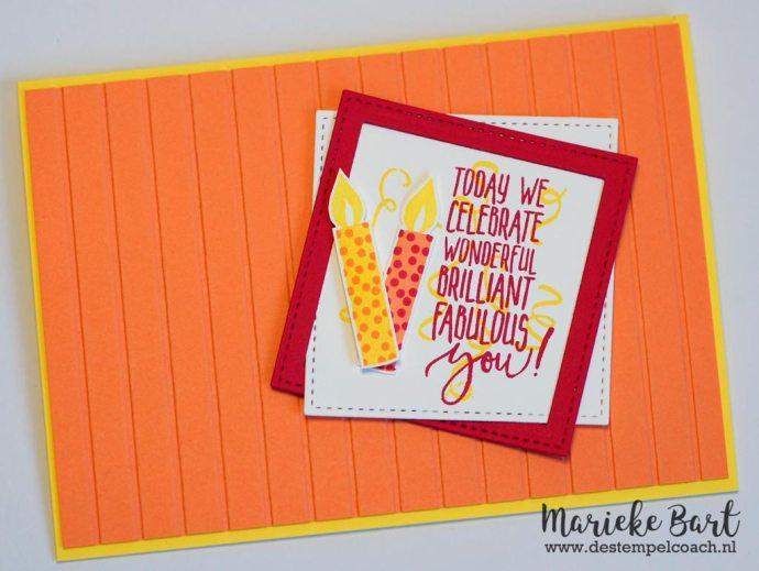 Picture Perfect Birthday and Birthday Backgrounds by Stampin' Up!