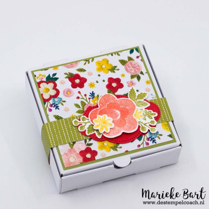 Needle & Thread Stamp Set, Needlepoint Elements Dies, Pretty Label Punch and Needlepoint Nook DSP by Stampin' Up!