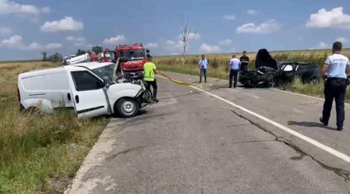 Băcăuan mort într-un accident la Botoșani VIDEO