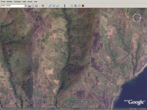 La déforestation au bord du lac Tanganyika !