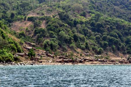 Village proche de Helembe en Tanzanie