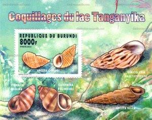 Mollusque aquatiques du Burundi