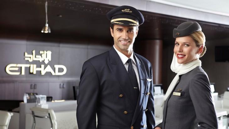 Resultado de imagen para Etihad Boeing pilot crew