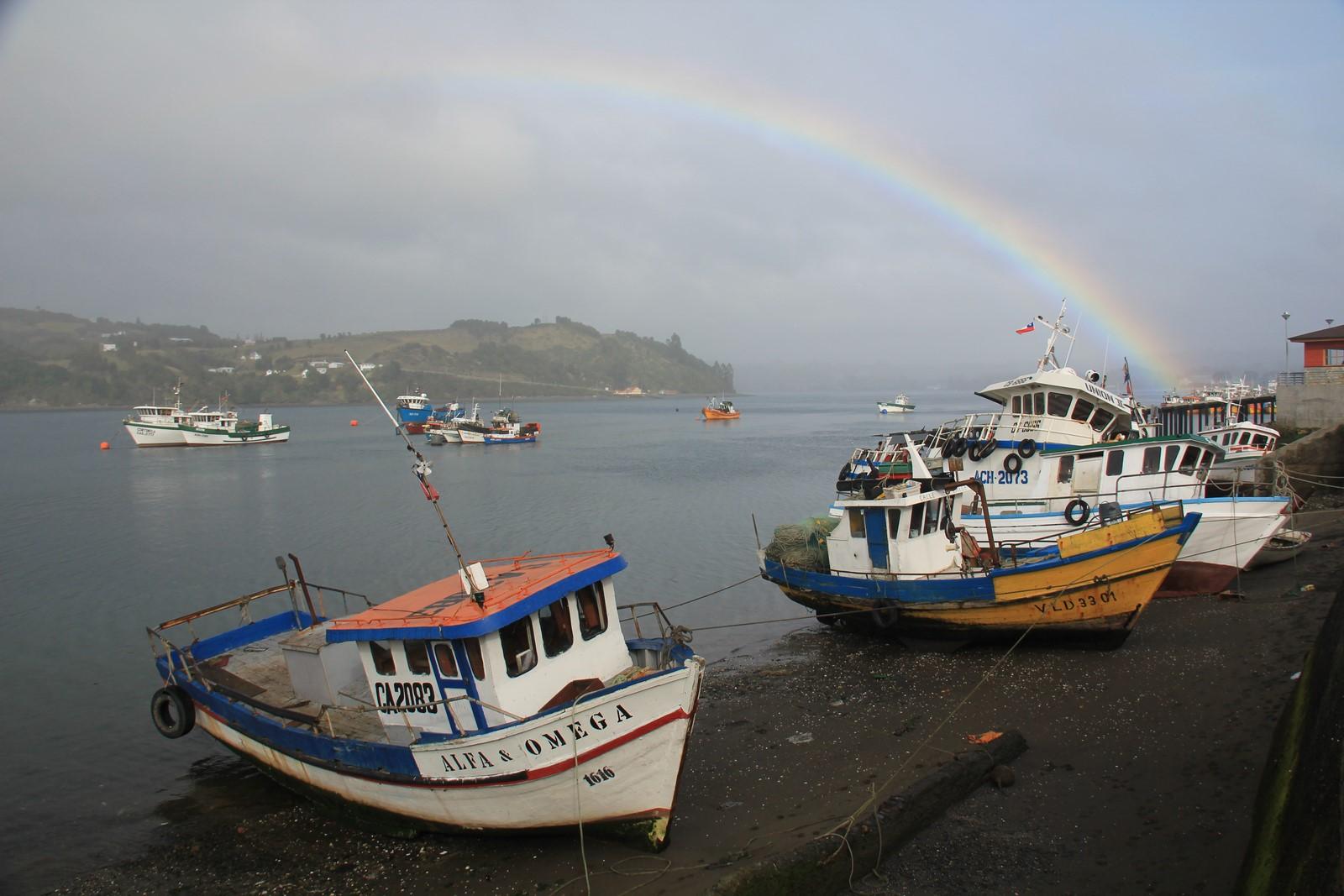 Jours 252 à 254 : L'île de Chiloé, un condensé de couleurs et de vie locale…