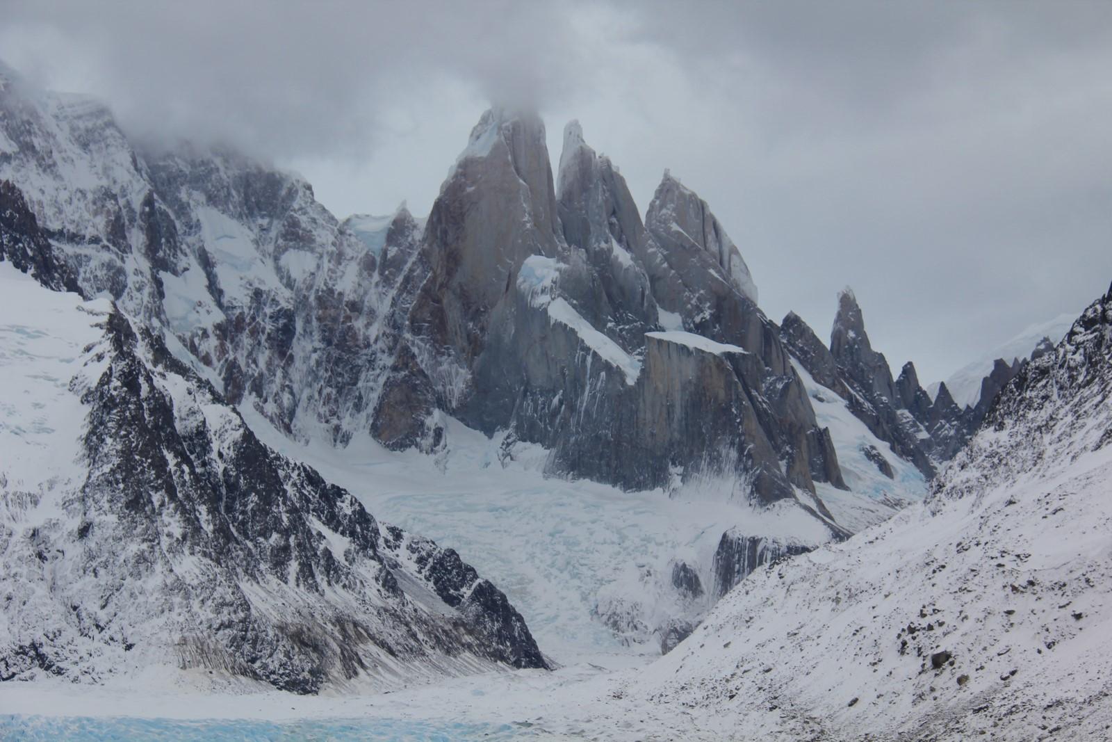 Jour 245 : Randonnée à la «laguna torre», au pied du Cerro Torre !