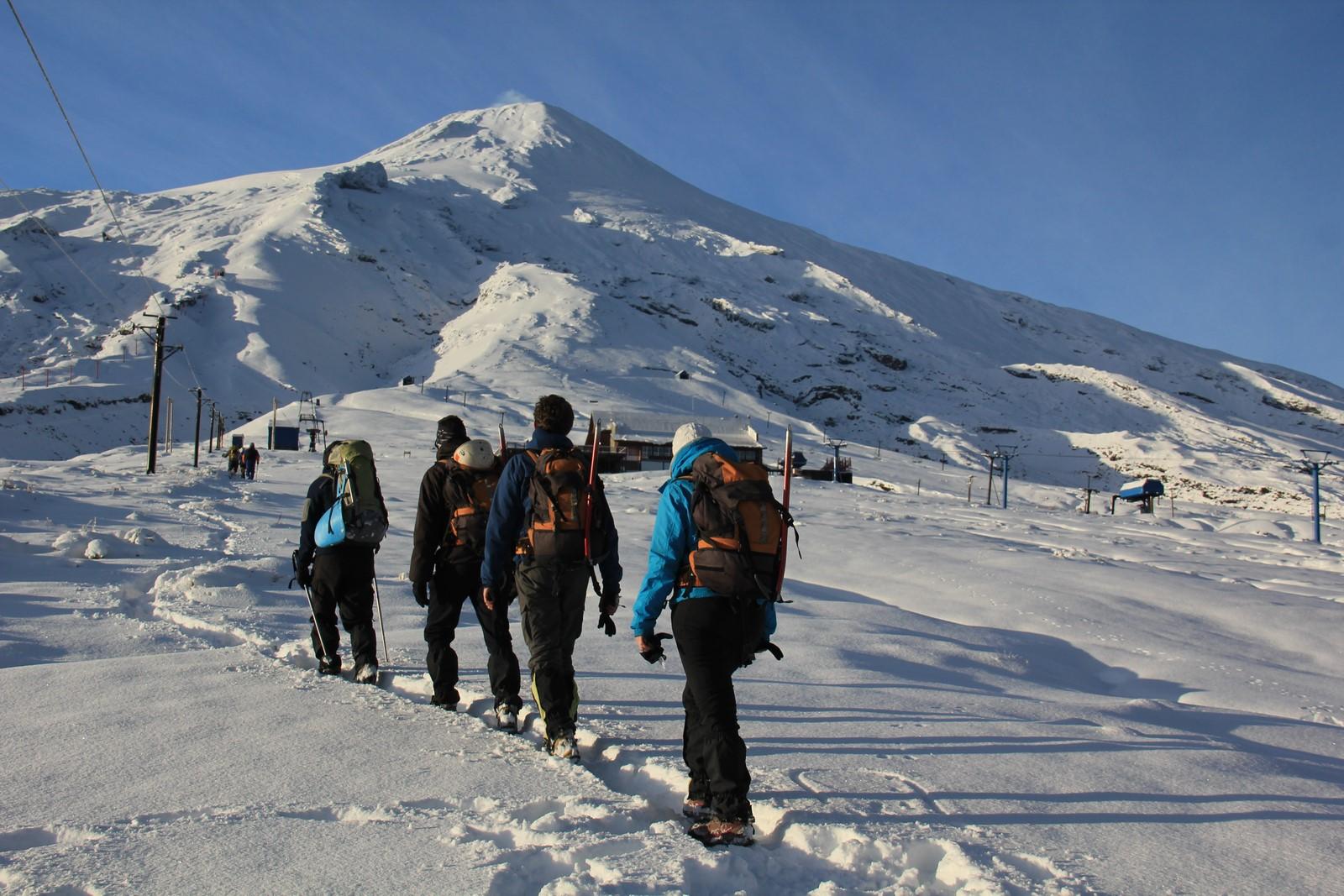 Jour 258 : Montera ou montera pas… au sommet du Villarica ?
